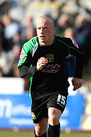 Yeovil Town's Luke Rodgers (on loan from Port Vale)<br /> Brighton and Hove Albion vs Yeovil Town at the Withdean Stadium Brighton. Coca Cola Football League One. 14/03/2009<br /> Credit Colorsport / Shaun Boggust