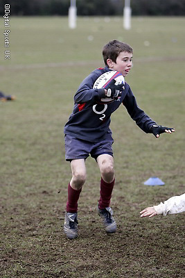 Saracens Masterclass at Hertford RFC. 19-2-09..Under 11s and 12s.