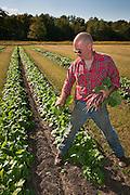 Chef Josh Adams visits Spence Farm