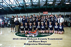 20160123 MCT Boys 1st place - Ridgeview v Le Roy