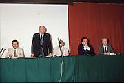 Scudetti 1987. Le premiazioni a Milano<br /> salerno, vinci, de michelis, korvin