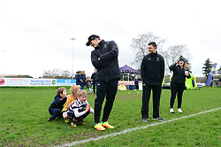 Ryan Mills, Jonny Arr and community coaches deliver coaching sessions at Stourbridge RFC  - Mandatory by-line: Dougie Allward/JMP - 19/03/2017 - Rugby - Stourbridge RFC - Stourbridge, England - Worcester Warriors Community Rugby