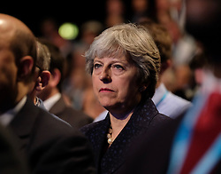 (c) Licensed to London News Pictures. <br /> 02/10/2017<br /> Manchester, UK<br /> <br /> XX at the Conservative Party Conference held over four days at the Manchester Central Convention Complex.<br /> <br /> Photo Credit: Ian Forsyth/LNP