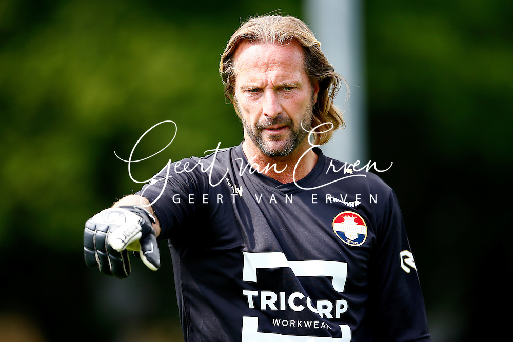 11-07-2016 VOETBAL:HARALD WAPENAAR:KEEPERSTRAINER WILLEM II:TILBURG<br /> Harald Wapenaar (46) is de nieuwe keeperstrainer van het eerste elftal<br /> <br /> <br /> Foto: Geert van Erven