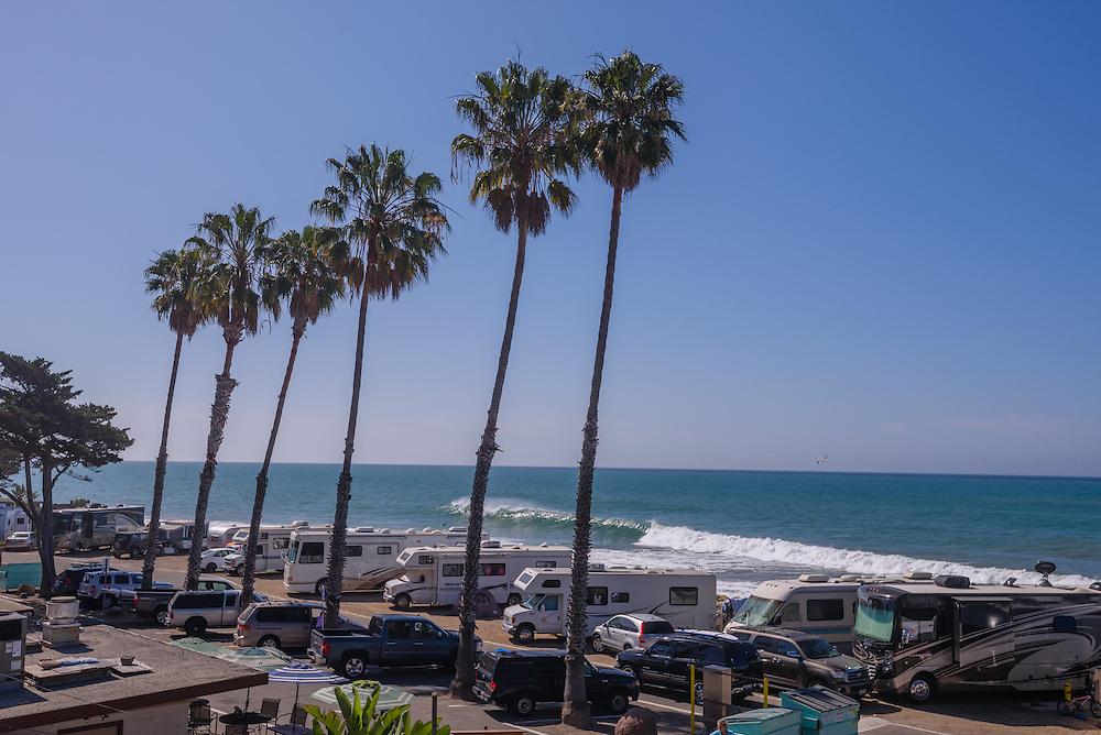 Faria Beach Park, California