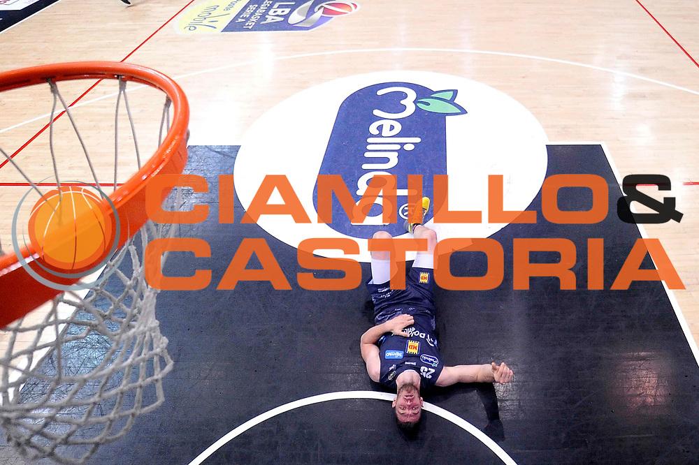 Luca Lechthaler<br /> Dolomiti Energia Aquila Basket Trento - Umana Reyer Venezia<br /> Lega Basket Serie A 2016/2017<br /> Playoff, finale gara 3<br /> Trento, 14/06/2017<br /> Foto Ciamillo-Castoria