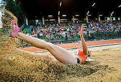Ivana Spanovic of Serbia competes at Long jump Women during 20th European Athletics Classic Meeting in Honour of Miners' Day in Velenje on July 1, 2015 in Stadium Velenje, Slovenia. Photo by Vid Ponikvar / Sportida
