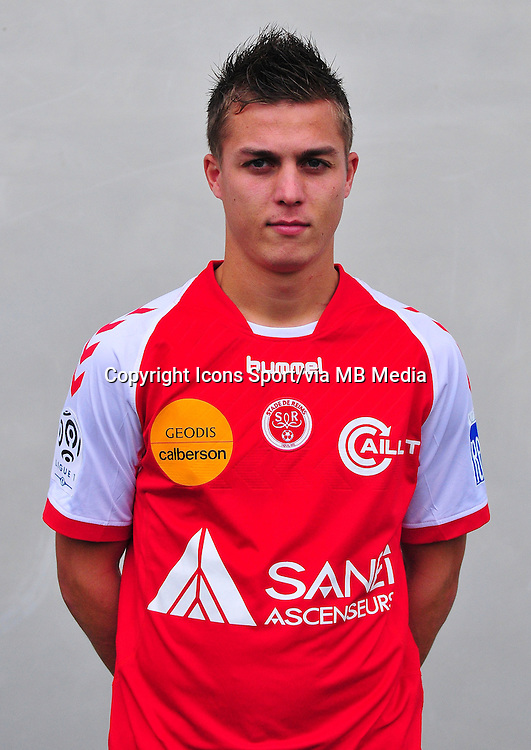 Nicolas DE ROUSSEL DE PREVILLE - 03.10.2013 - Photo officielle Reims - Ligue 1<br /> Photo : Philippe Le Brech / Icon Sport