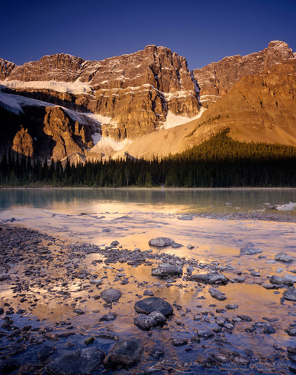 Crowfoot Mountain Banff National Park Alberta Canada