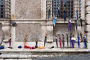Ombrelli per strada a Roma il 22 Settembre 2019.  Christian Mantuano / OneShot