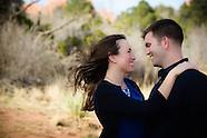 Stephanie + Scott at Garden of the Gods