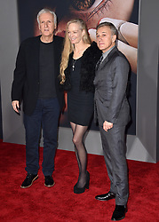 James Cameron, Suzy Amis Cameron, Christoph Waltz attend the Premiere Of 20th Century Fox's 'Alita: Battle Angel' at Westwood Regency Theater on February 05, 2019 in Los Angeles, CA, USA. Photo by Lionel Hahn/ABACAPRESS.COM
