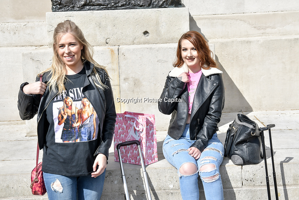 Hannah Cook ,Christie Hilton attend Cash & Rocket Photocall at Wellington Arch, on 6 June 2019, London, UK