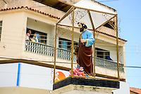 Espirito Santo - Conceicao da Barra -  Imagem de Sao Pedro, Porto de Conceicao da Barra, rio Cricare - Foto: Gabriel Lordello/Mosaico Imagem