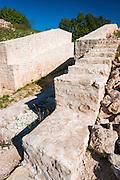 Burnum Roman Amphitheater ruins, Krka National Park, Dalmatia, Croatia
