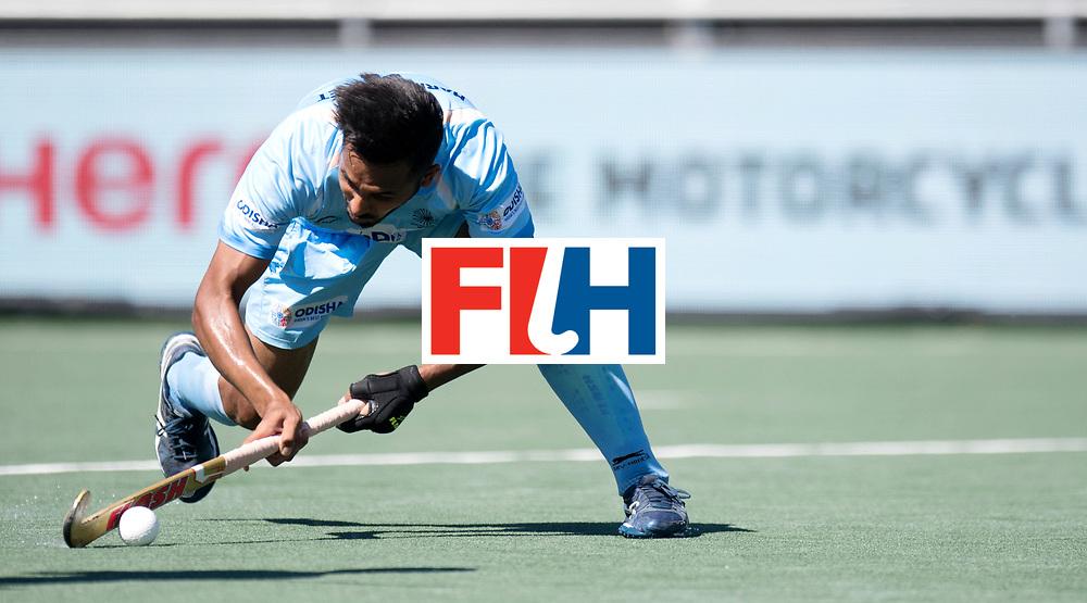 BREDA - Rabobank Hockey Champions Trophy<br /> Final Australia - India<br /> Photo: Harmanpreet Singh flicks.<br /> COPYRIGHT WORLDSPORTPICS FRANK UIJLENBROEK
