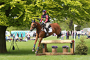 Louisa Lockwood on Fernhill Aldo during the International Horse Trials at Chatsworth, Bakewell, United Kingdom on 12 May 2018. Picture by George Franks.
