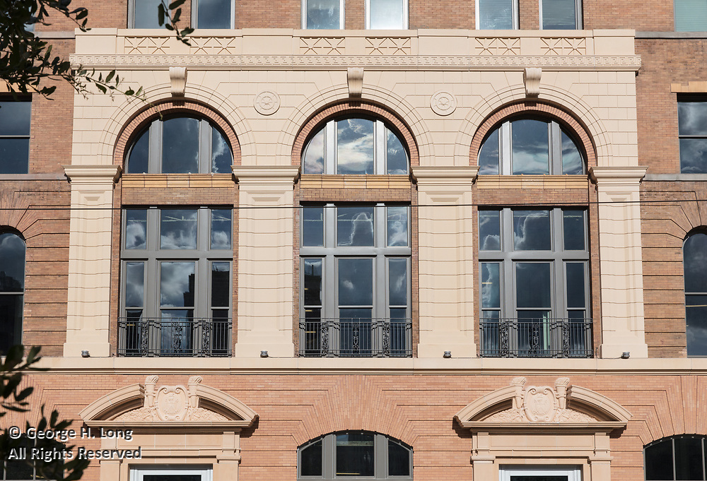 The Pythian, 234 Loyola Avenue in downtown New Orleans, Louisiana for Studio WTA Architects; ©2017, George H. Long