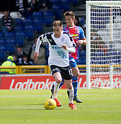 Dundee&rsquo;s Nick Ross and Inverness&rsquo; Danny Williams  - Inverness Caledonian Thistle  v Dundee, Ladbrokes Scottish Premiership at Caledonian Stadium <br /> <br />  - &copy; David Young - www.davidyoungphoto.co.uk - email: davidyoungphoto@gmail.com