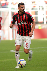 October 7, 2018 - Milan, Milan, Italy - Mateo Musacchio #22 of AC Milan during the serie A match between AC Milan and Chievo Verona at Stadio Giuseppe Meazza on October 7, 2018 in Milan, Italy. (Credit Image: © Giuseppe Cottini/NurPhoto/ZUMA Press)