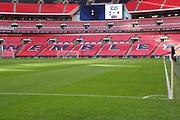 Tottenham v Wimbledon during the The FA Cup 3rd round match between Tottenham Hotspur and AFC Wimbledon at Wembley Stadium, London, England on 7 January 2018. Photo by Matthew Redman.