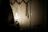 SYRIA - Al Qsair. A rosary is hung in a house in Al Qsair, on January 24, 2012. Al Qsair is a small town of 40000 inhabitants, located 25Km south-west of Homs. The town is besieged since the beginning of November and so far it counts 65 dead. ALESSIO ROMENZI