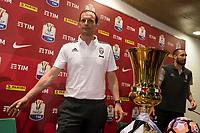 Massimiliano Allegri Juventus <br /> Roma 16-05-2017 Stadio Olimpico <br /> Conferenza Stampa Finale Coppa Italia <br /> Press Conference Italy Cup Final <br /> Foto Andrea Staccioli / Insidefoto