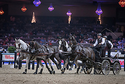 De Ronde Koos (NED)<br /> FEI World Cup Driving<br /> Flanders Christmas Jumping - Mechelen 2012<br /> © Dirk Caremans