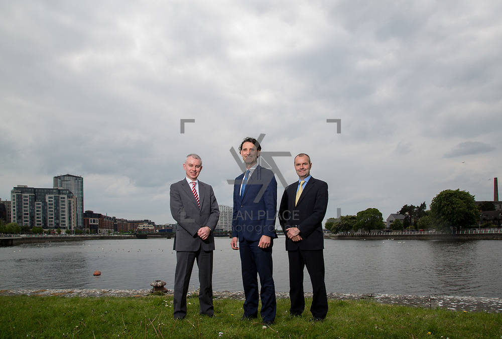 04.05.2017.       <br /> Paul Tierney, Peter Keogh and Peter Ryan, Keogh-Somers Chartered Accountants. Picture: Alan Place.