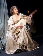 The Restoration of Nell Gwyn by Steve Trafford<br /> at Park Theatre, London, Great Britain <br /> 27th January 2016 <br /> <br /> Elizabeth Mansfield as Nell Gwyn <br /> <br /> <br /> Photograph by Elliott Franks <br /> Image licensed to Elliott Franks Photography Services