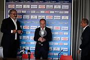 Sacchetti, Petrucci<br /> Raduno Nazionale Maschile Senior<br /> Presentazione Sacchetti, T-Hotel<br /> Cagliari, 05/08/2017<br /> Foto Ciamillo-Castoria/ GiulioCIamillo
