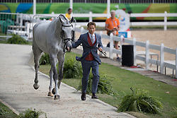 Lips Tim, NED, Bayro<br /> Final Horse inspection Eventing<br /> Olympic Games Rio 2016<br /> © Hippo Foto - Dirk Caremans<br /> 09/08/16