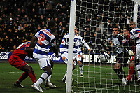 Photo: Tony Oudot/Sportsbeat Images.<br /> Queens Park Rangers v Crystal Palace. Coca Cola Championship. 04/12/2007.<br /> Clinton Morrison of Crystal Palace scores their second goal