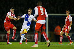 Chris Lines of Bristol Rovers in action - Rogan Thomson/JMP - 01/11/2016 - FOOTBALL - Memorial Stadium - Bristol, England - Bristol Rovers v Fleetwood Town - Sky Bet League One.