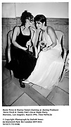 Rosie Perez & Marisa Tomei chatting at  during Producer Steve Tisch &  Vanity Fair's Oscar Night Party,<br /> Mortons,  Los Angeles. March 1994.  Film 94556/26<br />  <br /> © Copyright Photograph by Dafydd Jones<br /> 66 Stockwell Park Rd. London SW9 0DA<br /> Tel 0171 733 0108.