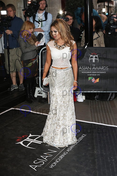Tasmin Lucia Khan, The Asian Awards, Grosvenor House Hotel, London UK, 17 April 2015, Photo by Richard Goldschmidt