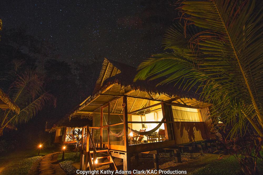 Inkaterra  Reserva Amazonia, on the Madre de Dios River, in eastern Peru, Tambopata.