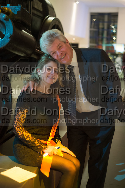 OLIVIA ABRAHMSOHN; TREVOR ABRAHMSOHN, Action Against Cancer 'A Voyage of Discovery' fundraising dinner at the Science Museum on Wednesday 14 October 2015.