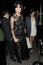 Daisy Lowe attends Playboy's 60th anniversary issue party hosted by Marc Jacobs and Kate Moss at The Playboy Club in London UK 02/12/13<br />