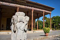 Iran, province d'Ispahan, Ispahan, Palais de Chehel Sotun // Iran, Isfahan, Chehel Sotun palace