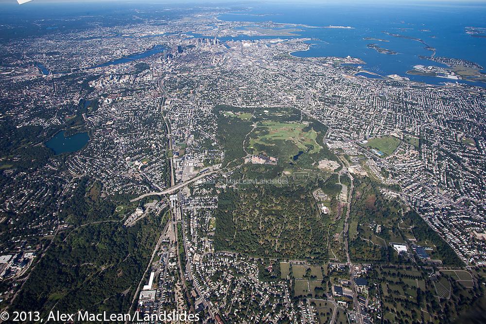 Franklin Park to Boston