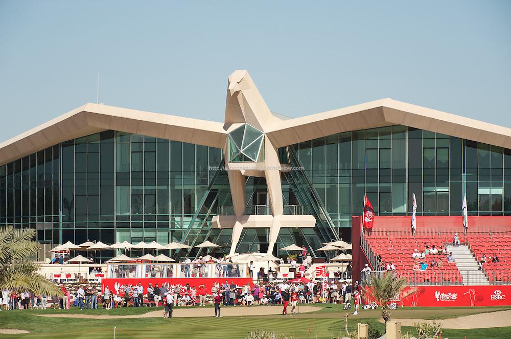 18.01.2013 Abu Dhabi HSBC Golf championship european tour, round 2, abu dhabi club falcon club house