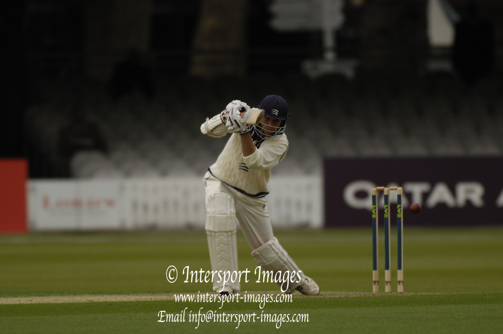 London, GREAT BRITAIN, Billy GODLEMAN, during the first session  the Liverpool Victoria Div 2 County championship match between  Middlesex vs Northamptonshire, at Lords Cricket ground, England on Wed 25.04.2007  [Photo, Peter Spurrier/Intersport-images].....