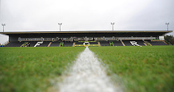 General views of The New Lawn stadium- 06/01/2018 - FOOTBALL - New Lawn Stadium- Nailsworth, England- Forest Green Rovers v Port Vale - Sky Bet League Two