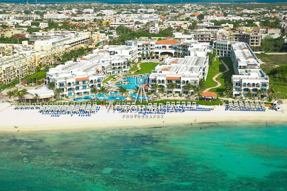 Royal hotel Playa del Carmen-Real Resorts. Quintana Roo. Mexico.