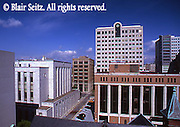 Harrisburg, PA, 2nd St and Market, City Center Street Scape, Dauphin Co., Courthouse, Penn National Insurance