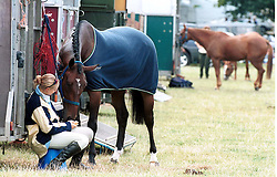 Burghley Horse Trails, August 31, 2000. Photo by Andrew Parsons/i-Images..