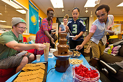 Chocolate Trail at PLU on Friday, Sept. 11, 2015. (Photo: John Froschauer/PLU)