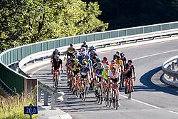 11.06.2017, Lienz, AUT, Dolomitenradrundfahrt, SuperGiroDolomiti 2017, im Bild das Feld der Verfolger im Anstieg zum Plöckenpass. EXPA Pictures © 2017, PhotoCredit: EXPA/ Johann Groder