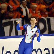 NLD/Heerenveen/20060122 - WK Sprint 2006, 2de 1000 meter dames, Chiara Simionato